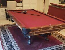"1880's Brunswick-Balke-Collender Co. ""The Monarch"" 9 ft Pool Table"
