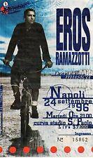 Ticket Biglietto Eros Ramazzotti Napoli San Paolo 24 Settembre 96 Raro Perfetto