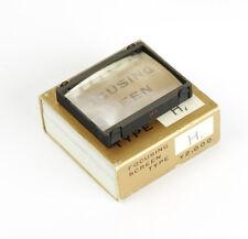 Boxed Nikon F Focusing Screen / Einstellscheibe Typ H1 Type H1