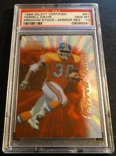 1996 TERRELL DAVIS SELECT PREMIUM STOCK MIRROR RED PSA 10  POP 2 ONLY 20 MADE