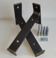 All Sizes 2x caffolding board brackets.*Rustic Hand made Brackets.*scaffold boad
