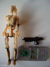 STAR Wars PE 1 Loose ULTRA RARA Battle Droid Shot/Stella VARIANTE ottime condizioni.