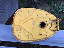 vintage Honda CT50 CT70 CT90 gas tank yellow early style