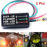 Universal 12V 3 Pin Flasher Blinker Relay Turn Signal LED Light for Motorcycle