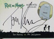 Rick And Morty Season 1 Autograph Card TK-M Tom Kenny as Mr. Jellybean #/50