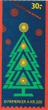 Noorwegen booklet gestempeld 1989 used MH14 - Kerstmis / Christmas (B100)