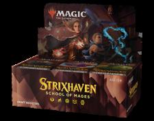 Caixa Booster Strixhaven Draft-Magic The Gathering-Novo em folha! nossos pedidos envio rápido!