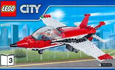 LEGO® Düsenjäger Jet Flugzeug Plane NEU aus Flugschau Airport Air Show 60103-3