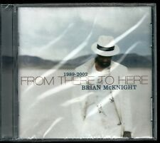 """Brian Mcknight 1989-2002 From There to Here Philippines CD incl """"Sorry Song"""""""