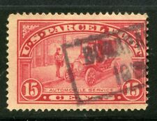 (1912-13) Q7 15¢ Parcel Post - Automobile used stamp