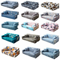 1 2 3 4 Seater Vintage Sofa Furniture Covers Slipcovers Stretch Couch Recliner