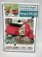 Scooter Vespa maquette a monter en carton echelle 1:8 , 22cm belle qualité