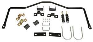 Sway Bar Black Steel Rear 3/4 in. Diameter Fits Dodge Plymouth Kit