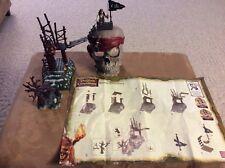 Mega Bloks Pirates of the Caribbean Dead Man Chest #1025 COMPLETE 40 Pc SET EUC