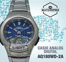 Casio Standard Analog Digital Watch AQ180WD-2A