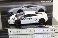 MINICHAMPS 436103801 Lamborghini Gallardo LP 560-4 BLANC 2008 1:43 NEUF