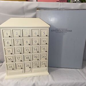 Restoration Hardware Keep The Tradition Christmas Advent Calendar Ivory 25 Door