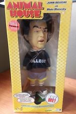 "ANIMAL HOUSE - 12"" Talking John Belushi as Bluto Blutarsky Animated Figure NIB"