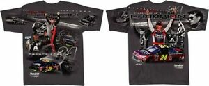 Jeff Gordon 2015 Checkered Flag #24 Drive to End Hunger/Axalta Total Print Tee