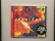 Pearl Jam Dissident CD Japan OBI SEALED BRAND NEW MINT Rare