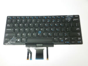 OEM Dell Latitude E5480 Backlit Keyboard Stick Pointer 0D19TR + Cover