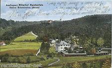 Ak Ausflugsort Ritterhof Reichenfels, Sation Hohenleuben (Reuss), 1921 Postkarte