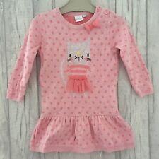 6 Years BNWT BLUEZOO Pink Cotton T-Shirt DEBENHAMS Girls Sleeved Top 18 Months