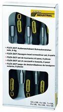 Proxxon FLEX-DOT 22644 - Set di cacciavite a testa esagonale, 6 pz