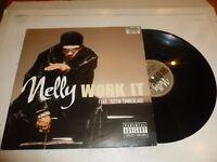 "NELLY featuring JUSTIN TIMBERLAKE - Work It - 2003 UK 3-track 12"" vinyl single"
