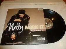 "NELLY featuring JUSTIN TIMBERLAKE - Work It - 2003 UK 3-track 12"" vinyl single"