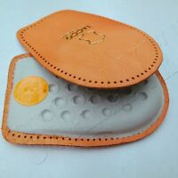 Tacco 602 Leather Heel CushionsLatex Rubber Insoles Shoe Lifts Relax Back Pads