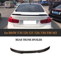 für BMW F30 F80 M3 Limo13-18 Spoiler Heckspoiler Carbon Lippe Flügel  Heckansatz