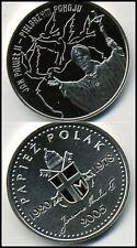 Pope Saint John Paul II Poland 2005 Silver Medal Unc Pilgrim of Peace Beautiful