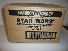 Star Wars Kenner Hasbro 12 Action Figures Case 69605.31 OC
