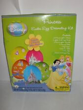 Disney Princess Easter Egg Decorating Kit 23 Stickers 5 Glitter Cast Stands Etc