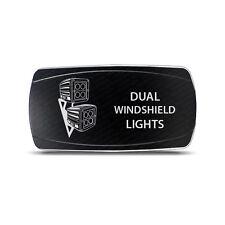 CH4x4 Rocker Switch Dual Windshield Ligth  Symbol  -  Horizontal - Amber LED