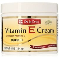 De La Cruz Vitamin E Cream 4 oz (Pack of 2)