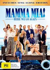 Mamma Mia - Here We Go Again! (DVD, 2018)