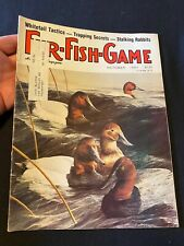 Vintage Fur Fish Game magazine October 1985 Hunting Fishing Outdoor