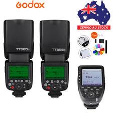AU 2*Godox TT685O TTL 2.4G Flash+Xpro-O Wireless Trigger For Olympus Panasonic