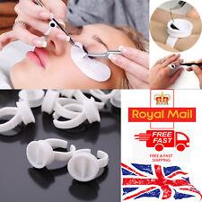 Glue Ring Eye Lash Extension Finger Glue Ink Holder Eyelash Glue Ring UK