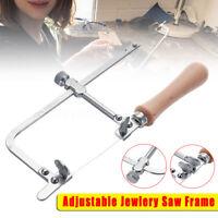 Adjustable Jewelry Saw Frame +Free Blade Jeweler Making Repair Hand Tool