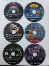 Mortal Kombat Armageddon, Jaws, Crash Tag Team, the Matrix PON, Scooby-doo x2