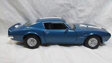 1972 Pontiac Firebird Trans Am In A Blue 1:24 Scale Diecast Car By Welly dc2447