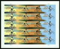 Bicycling Sheet of 20 Forever Stamps Scott 4687-90