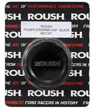 2005-2010 Ford Mustang Roush Black Engraved Billet Power Steering Cap Cover