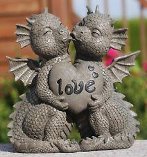 """Gartendrachen """"Liebespaar Love"""" - Garten, Figur, Herz"""