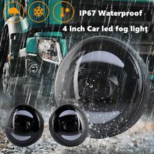 2X 30W Car Truck LED Fog Light 4inch Lamp Fit For 2004-2018 Volvo VHD VNM FE FL