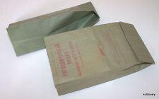 Vintage Air Sickness Bag USSR AEROFLOT sick sack airsick airsickness barf vomit
