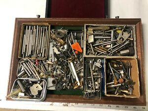 MACHINIST TOOLS LATHE MILL Lot of Misc Items From Machinist Tool Box Drawers